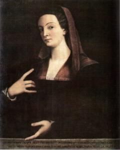 Sebastiano del Piombo-Giulia Gonzaga-Mantova, Museo del Palazzo Ducale